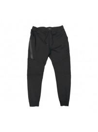 MPAN-20A Double Terry Fleece Jogger Pants (black) (μεγάλα μεγέθη)