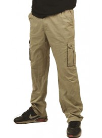 MPAN-69A Double Ανδρικό παντελόνι (μεγάλα μεγέθη) Χρώμα Μπεζ