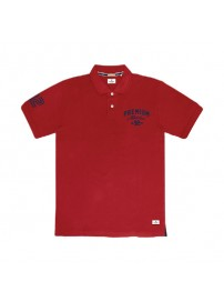 PS-244S Double Polo Pique (hot red)