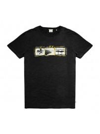 TS-133BVA Double Κοντομάνικο T-shirt (μεγάλα μεγέθη)(black)