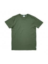 TS-82A Double T-Shirt V-Neck (μεγάλα μεγέθη)(green)