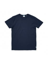 TS-82A Double T-Shirt V-Neck (μεγάλα μεγέθη)(blue)