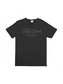 TS-95A Double T-Shirt Crew Neck (μεγάλα μεγέθη)(black)