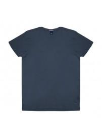 RTS-82VA Rebase T-Shirt V-Neck (μεγάλα μεγέθη)(blue)