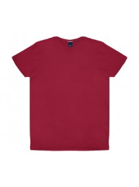 RTS-82VA Rebase T-Shirt V-Neck (μεγάλα μεγέθη)(red)