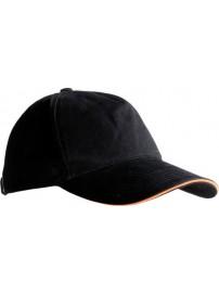 268669134 Herock Horus cap ONE SIZE (Black)