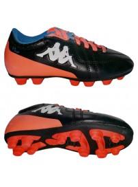 3025870 905 Kappa 4 Soccer Player FG Kid (black/orange fluo)