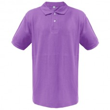 OS-PRP OS Κοντομάνικη μπλούζα polo πικέ Χρώμα Μωβ