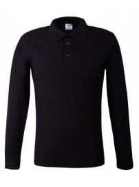 MPLS-180 Keya Polo Long Sleeve Χρώμα Μαύρο