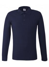 MPLS-180 Keya Polo Long Sleeve Χρώμα Μπλε