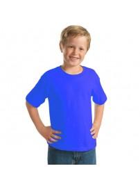 YC-150 Παιδικό Μπλουζάκι Keya κοντομάνικο Χρώμα Μπλε ρουά