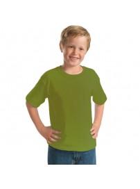 YC-150 Παιδικό Μπλουζάκι Keya κοντομάνικο Χρώμα Χακί
