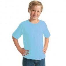 YC-150 Παιδικό Μπλουζάκι Keya κοντομάνικο Χρώμα Γαλάζιο