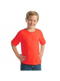 YC-150 Παιδικό Μπλουζάκι Keya κοντομάνικο Χρώμα Κόκκινο