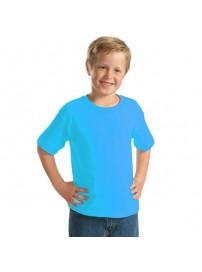 YC-150 Παιδικό Μπλουζάκι Keya κοντομάνικο Χρώμα Τιρκουάζ