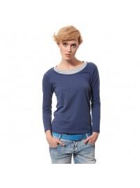 R1707 Lotto T-shirt LS Easy W denim