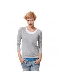 R1708 Lotto T-shirt LS Easy W gray