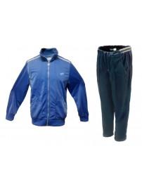 M3956 Lotto Σετ Φόρμα Γυαλιστερή Χρώμα Μπλε/Μπλε σκούρο