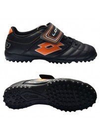 N8509 Lotto Stadio Potenza 500 TF JRS (black/orange neon)