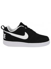 838937 010 Nike Court Borough Low (black/white)