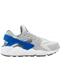 318429 036 Nike Air Huarache (wolf grey/game royal/dark grey)