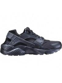654275 016 Nike Huarache Run GS (black/black/black)