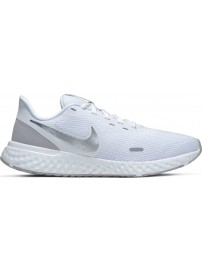 BQ3207-100 Nike Revolution 5 (White/Wolf-Grey-Pure platinum)