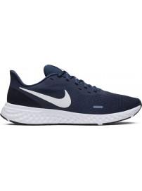 BQ3204-400 Nike Revolution 5 (Midnight Navy/White)