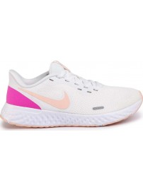 BQ3207-103 Nike Revolution 5 (Summit white/washed coral)