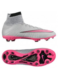 641860 061 Nike Mercurial SuperFly SG Pro (wlf gry/hypr pnk/blck promo)