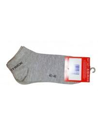 Patrick Κοντές κάλτσες 3 ζευγάρια Χρώμα Γκρι