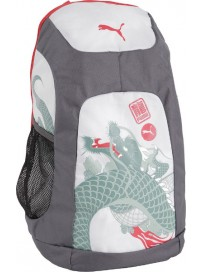 073241 01 Puma Evospeed dragon Backpack (sea pine/white/high risk red)