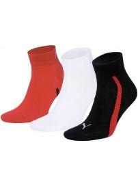 886413 04 Puma Lifestyle Quarters κοντές κάλτσες 3 ζευγάρια
