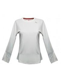 504785 03 Puma T/S LS Tee (white)