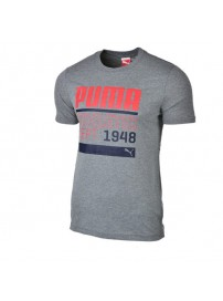 590170 02 Puma BPPO 980 Graphic Tee (medium gray leather)