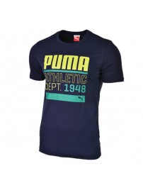 590170 03 Puma BPPO 980 Graphic Tee (peacoat)