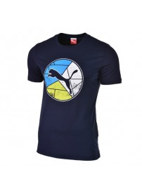 590172 02 Puma BPPO 979 Graphic Tee (peacoat)