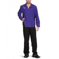 653093 10 Puma Foundation Woven Suit Ανδρική φόρμα (team violet-black)