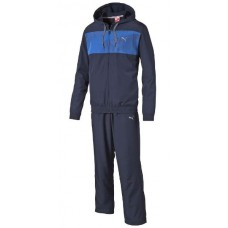 832235 06 Puma Active Graph Woven HD Suit OP (peacoat/strong blue)