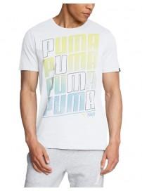 832279 02 Puma Fun Summer Graphic Tee Ανδρική μπλούζα μακό