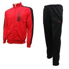 834151 44 Puma Fun Graphic Tricot Suit OP (puma red/black)