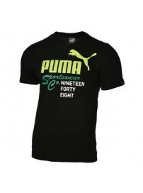 837308 01 Puma Mens Heritage Tee (black)