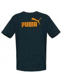 831854 52 Puma Ess No. 1 Logo Tee (blue wing teal)