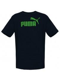831854 76 Puma Ess No. 1 Logo Tee (peacoat jelly bean)