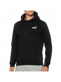 851744 01 Puma Fleece Hoodie (black)