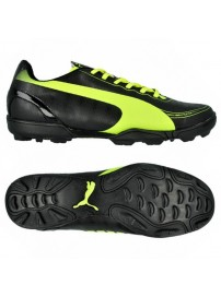 102888 01 Puma Evo Speed 5.2 TT JR (black/fluo yellow)