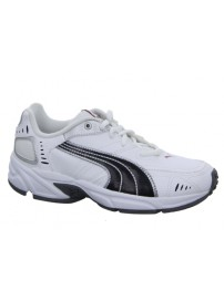 185699 05 Puma Xenon Trainer JR (white/black/silver/red/gray)