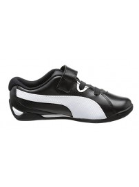304612 03 Puma Racing Cat V Kids (black/white)