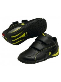 304591 04 Puma Drift Cat 5 L SF Kids (black/black/vibrant/yellow)