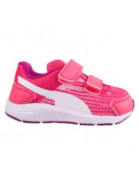 358663 03 Puma Sequence V Kids (FLUO PINK-WHITE)